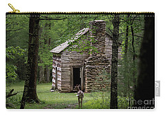 Carry-all Pouch featuring the photograph Step Back In Time by Andrea Silies
