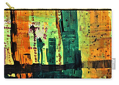 Carry-all Pouch featuring the painting Step Ladder by Pam Roth O'Mara