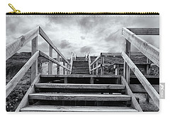 Carry-all Pouch featuring the photograph Step On Up by Linda Lees