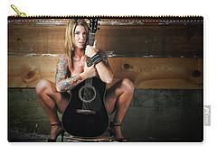 Stephanie W/guitar Carry-all Pouch