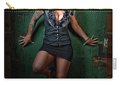 Stephanie Green Door Carry-all Pouch