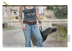 Stephanie Guitar Standing 1 Carry-all Pouch