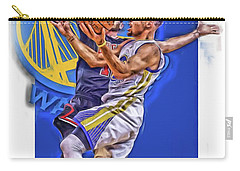 Stephen Curry Golden State Warriors Oil Art Carry-all Pouch