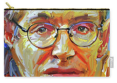 Stephen Hawking Tribute Portrait 4 Carry-all Pouch