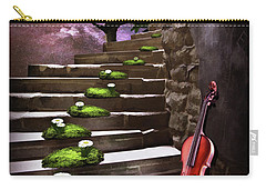 Steps Of Happiness Carry-all Pouch by Mihaela Pater