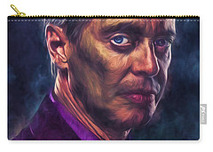 Steve Buscemi Actor Painted Carry-all Pouch