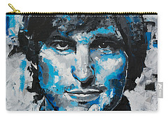 Carry-all Pouch featuring the painting Steve Jobs II by Richard Day