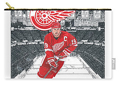 Steve Yzerman  Carry-all Pouch