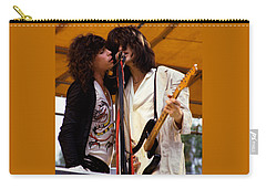 Steven Tyler And Joe Perry Of Aerosmith At Monsters Of Rock In Oakland Ca 1979 Carry-all Pouch