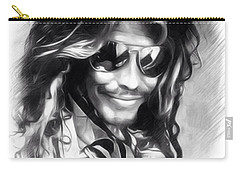 Steven Tyler Illustration  Carry-all Pouch by Scott Wallace