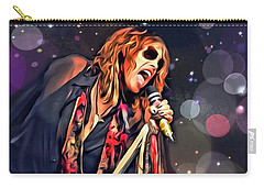 Steven Tyler  Carry-all Pouch by Scott Wallace