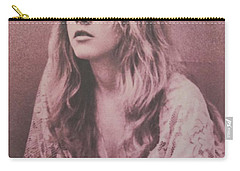 Stevie Nicks  Carry-all Pouch by Donna Wilson