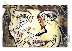 Stevie Ray Vaughan Carry-all Pouch by Paul Van Scott