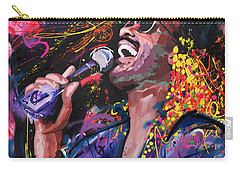 Stevie Wonder Carry-all Pouch by Richard Day