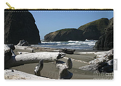 Carry-all Pouch featuring the photograph Sticks And Stones by Marie Neder