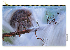 Carry-all Pouch featuring the photograph Sticks And Stones by Rick Furmanek