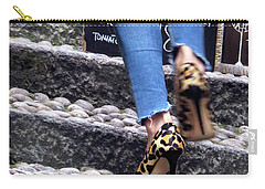 Stiletto,steps And Stones Carry-all Pouch by Jennie Breeze