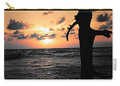 Still By Sea Carry-all Pouch by Rushan Ruzaick