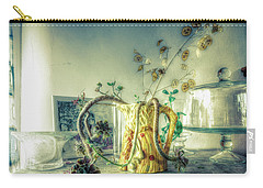 Carry-all Pouch featuring the photograph Still, Life Goes On by Wayne Sherriff