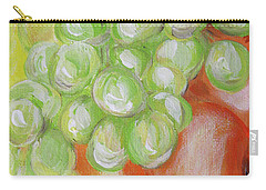Still Life. Grapes. Fruits.  Carry-all Pouch