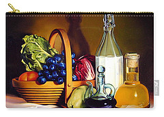 Still Life In Oil Carry-all Pouch by Patrick Anthony Pierson