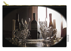Still Life - The Crystal Elegance Experience Carry-all Pouch by Shawn Dall