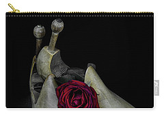 Still Life With Transitories Carry-all Pouch by Ronda Broatch