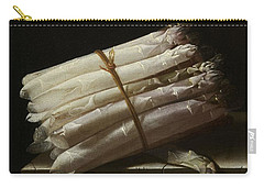Still Life With Asparagus, 1697 Carry-all Pouch