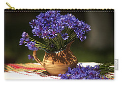 Still Life With Blue Flowers Carry-all Pouch
