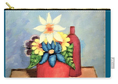 Still Life With Bottle Carry-all Pouch