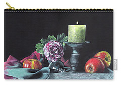 Still Life With Candle Carry-all Pouch
