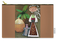 Still Life With Countru Girl Carry-all Pouch