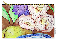 Still Life With Fish Carry-all Pouch by Loretta Nash