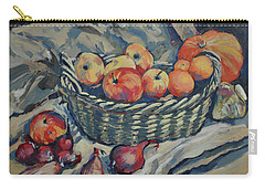Still Life With Fruit And Vegetables Carry-all Pouch