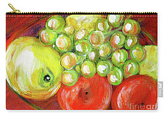 Still Life With Fruit. Painting Carry-all Pouch