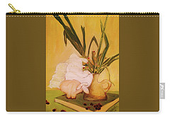 Still Life With Funny Sheep Carry-all Pouch