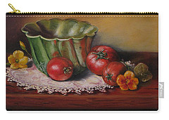 Still Life With Green Bowl Carry-all Pouch