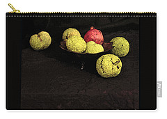 Still Life With Horse Apples Carry-all Pouch
