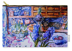 Still Life With Hyacinths  Carry-all Pouch