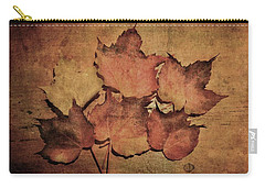 Still Life With Leaves Carry-all Pouch