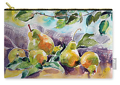 Still Life With Pears Carry-all Pouch by Kovacs Anna Brigitta