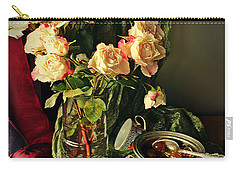 Still Life With Roses Carry-all Pouch