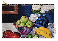 Still Life With Snowballs Carry-all Pouch