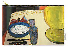 Still Life With Two Plates Carry-all Pouch