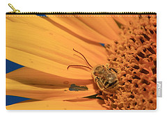 Carry-all Pouch featuring the photograph Still Sleeping by Chris Berry