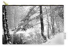 Still Snowing Carry-all Pouch