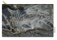 Carry-all Pouch featuring the photograph Still Stream Skeleton Screams by Carol Lynn Coronios