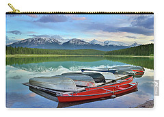 Carry-all Pouch featuring the photograph Still Waters At Lake Patricia by Tara Turner