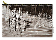 Stilt Wading At Green Cay Wetlands Boynton Beach Florida Carry-all Pouch