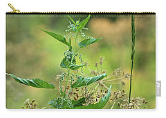 Carry-all Pouch featuring the photograph Stinging Nettle by Ann E Robson